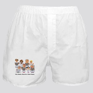 Funny Personalized Church Choir Boxer Shorts