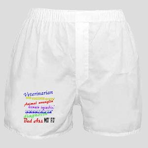 Bad Ass Veterinarian Boxer Shorts
