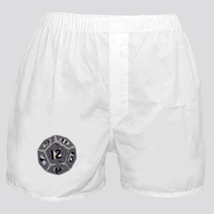 12 Sided Die Boxer Shorts