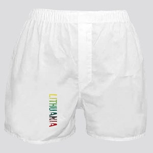 Lithuania Boxer Shorts