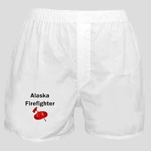 Alaska Firefighter Boxer Shorts