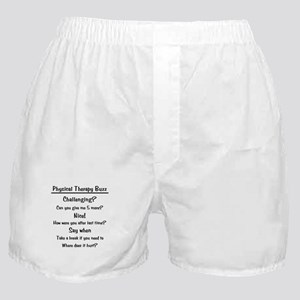 Physical Therapy Buzz Boxer Shorts