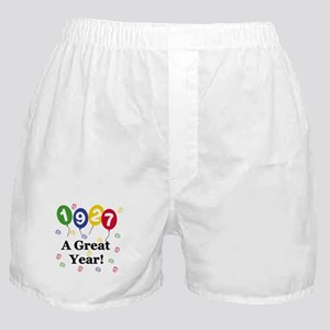 1927 A Great Year Boxer Shorts