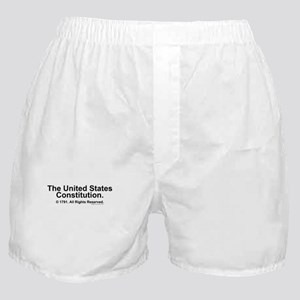 US Constitution Boxer Shorts