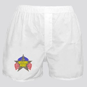 USA Troops Welcome Home Boxer Shorts
