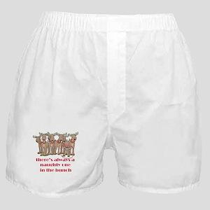 Naughty Reindeer Boxer Shorts