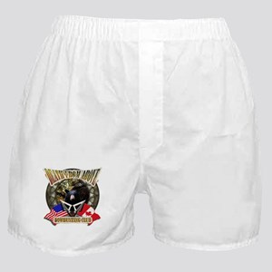 death from above bow hunting Boxer Shorts