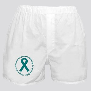 Teal Hope Boxer Shorts