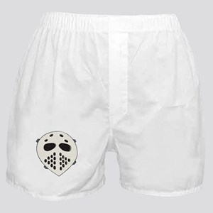 Goalie Mask Boxer Shorts