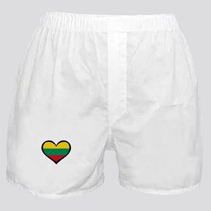 Lithuania Love Heart Boxer Shorts