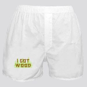I Got Wood Boxer Shorts