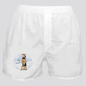 Airedale Noel Boxer Shorts