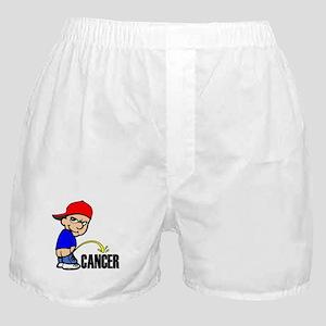 Piss On Cancer -- Cancer Awar Boxer Shorts