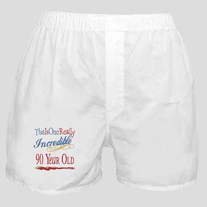 Incredible At 90 Boxer Shorts
