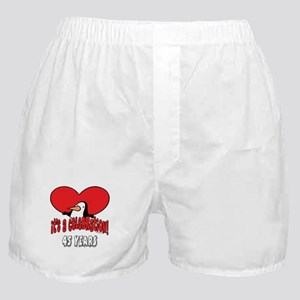 45th Celebration Boxer Shorts