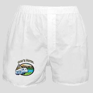 God's Hotel Boxer Shorts