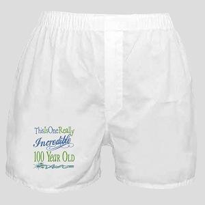 Incredible 100th Boxer Shorts