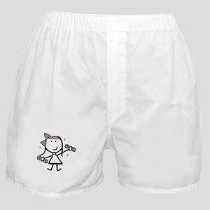 Girl & Exercise Boxer Shorts