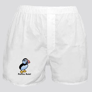 Puffins Rule! Boxer Shorts