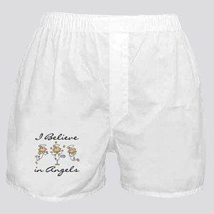 I Believe in Angels Boxer Shorts