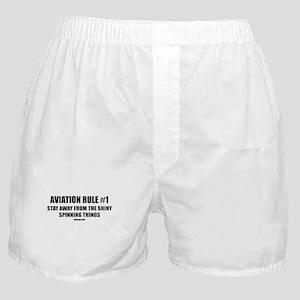 AVIATION RULE #1 Boxer Shorts