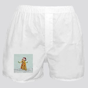 Winter Airedale Boxer Shorts
