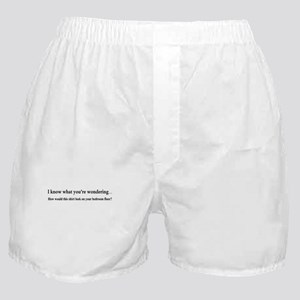 I KNOW WHAT YOUR WONDERING... Boxer Shorts