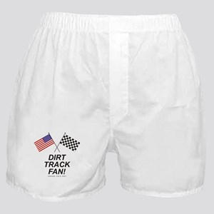 Dirt Track Fan Boxer Shorts