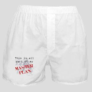 Master Plan Boxer Shorts