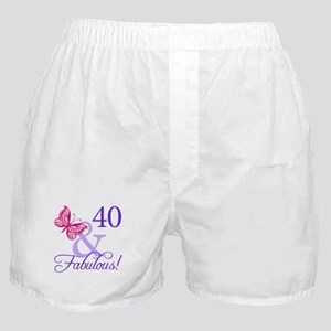 40 And Fabulous Boxer Shorts