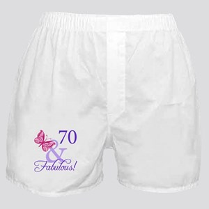 70 And Fabulous Boxer Shorts