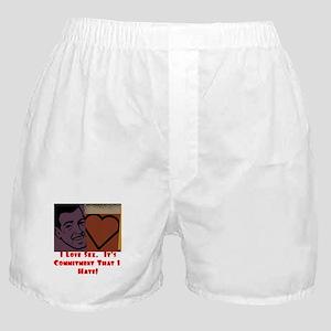 I Love Sex... Boxer Shorts