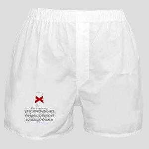 Alabama Boxer Shorts