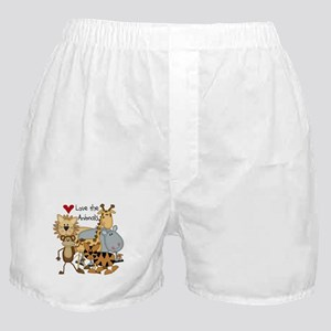 Love the Animals Boxer Shorts