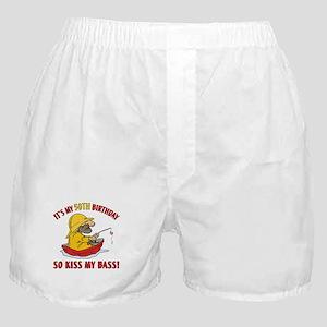 Fishing Gag Gift For 50th Birthday Boxer Shorts