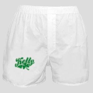 Kelly Irish Shamrock Boxer Shorts
