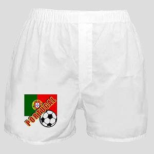 World Soccer PortugalTeam T-shirts Boxer Shorts