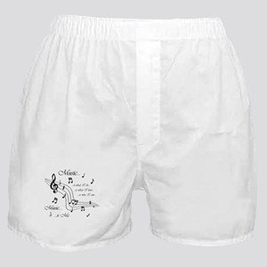 Music is Me Boxer Shorts