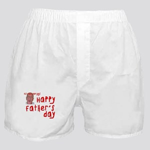 Crabby Father's Day Boxer Shorts