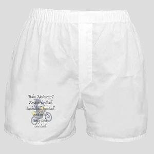 Why Motocross? Boxer Shorts