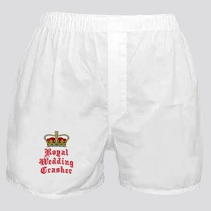 Royal Wedding Crasher Boxer Shorts