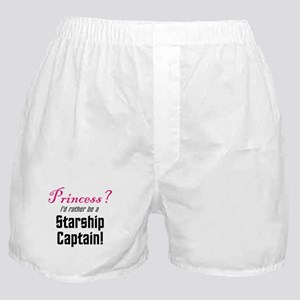 Starship Captain Boxer Shorts
