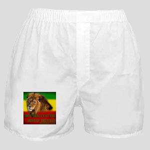 Rastafarian Lion Boxer Shorts