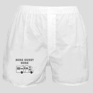 Home Sweet Home Mini Motorhome Boxer Shorts
