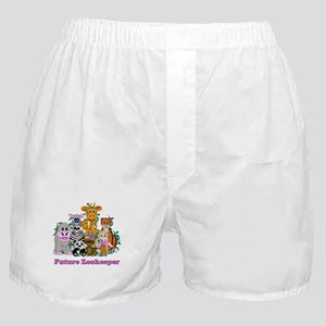 Future Zookeeper Girl Boxer Shorts