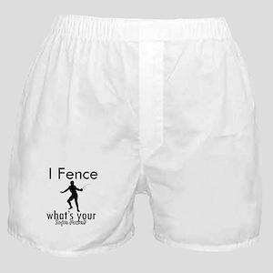 I Fence Boxer Shorts