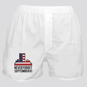 9 11 Never Forget Boxer Shorts