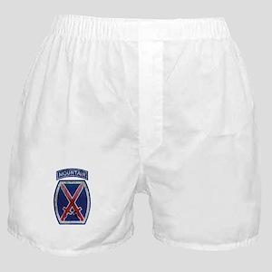 10th Mountain Division - Clim Boxer Shorts