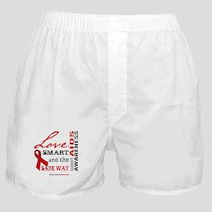 AIDS Awareness Boxer Shorts