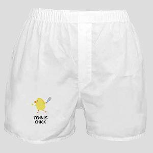 Tennis Chick Boxer Shorts